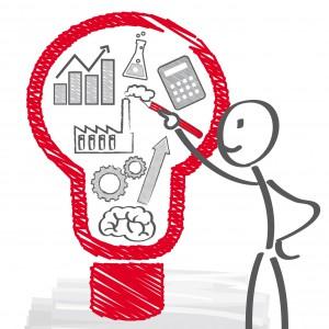 Arbeit; inspiration; beraten; beratung; inspiration, Geschäft; denken; einfall; entwickeln; entwicklung; erfolg; erfolgreich; ergebnis; finden; forschung; glühbirne; männchen; herausforderung; vision; idee; ideen; innovation; konzept; kreativ; kreativität; Strichmännchen; Gehirn; lösung; lösungen; nachdenken; plan; planung; problem; projekt; service; strategie; denkprozess; symbol; brainstorming; umsetzen; überlegen, ziele
